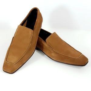 Donald Pilner Mens Suede Loafer Size 10.5M #S168
